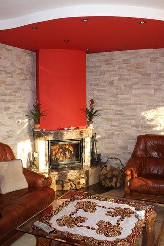 kominek tradycyjny z marmuru Bielsko Biała