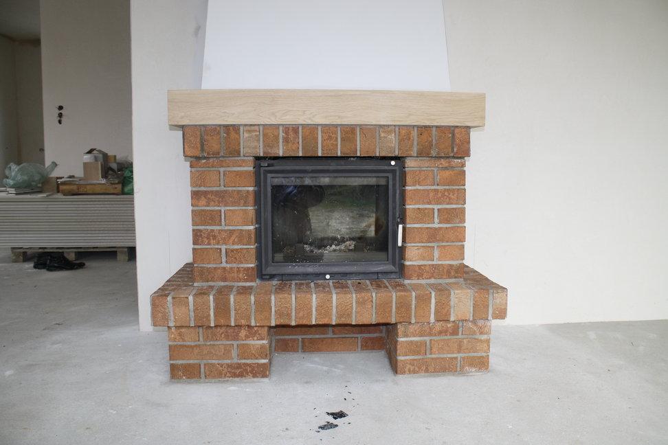 montaż kominka tradycyjnego z cegły Bielsko Biała