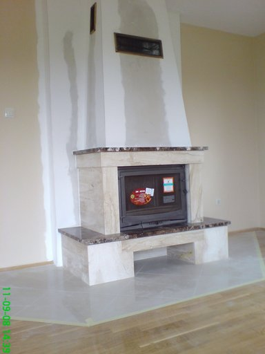 kominek klasyczny marmurowy Bytom
